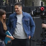 Sofia Vergara filming with husband Joe Manganiello for the first time in NYC